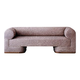 Featured in The 2020 San Francisco Decorator Showcase — Dmitriy & Co. Alpaca Boucle Sofa For Sale