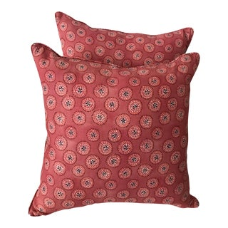 Rebecca Atwood Fabric Pillows - A Pair