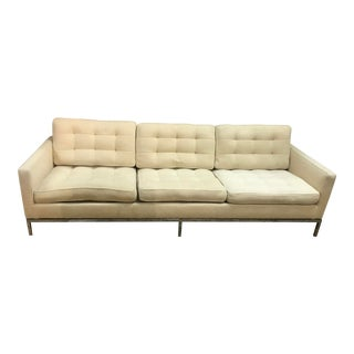 1960s Mid-Century Florence Knoll 67a Sofa For Sale