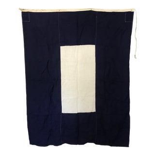 "Vintage Nautical Flag ""P"" For Sale"