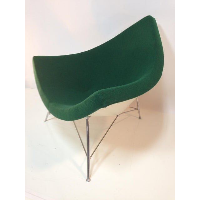 Coconut Chair With Ottoman For Sale - Image 5 of 11