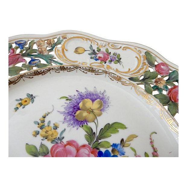 19th-C. Dresden Cabinet Plate - Image 4 of 7