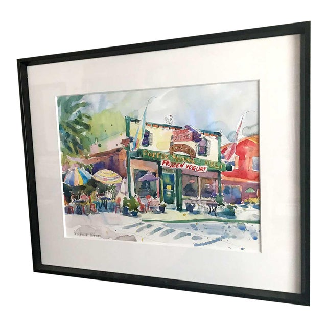 After the Run - Fair Oaks Deli Watercolor Painting - Image 1 of 3