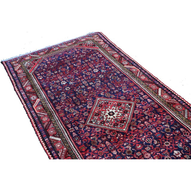 Hand Knotted Persian Wool Area Rug 5′ × 10′ - Image 3 of 5