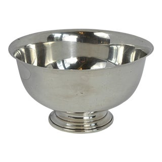 Early 20th Century Paul Revere Style Sterling Silver Bowl by Whiting For Sale