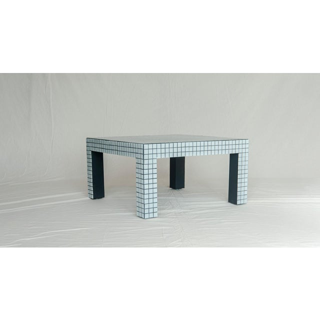 Superstudio Coffe Tiled Table For Sale In Los Angeles - Image 6 of 10