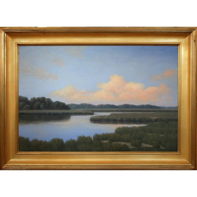Impressionism Ronald Tinney, Magic on the Horizon Painting, 2016 For Sale - Image 3 of 8