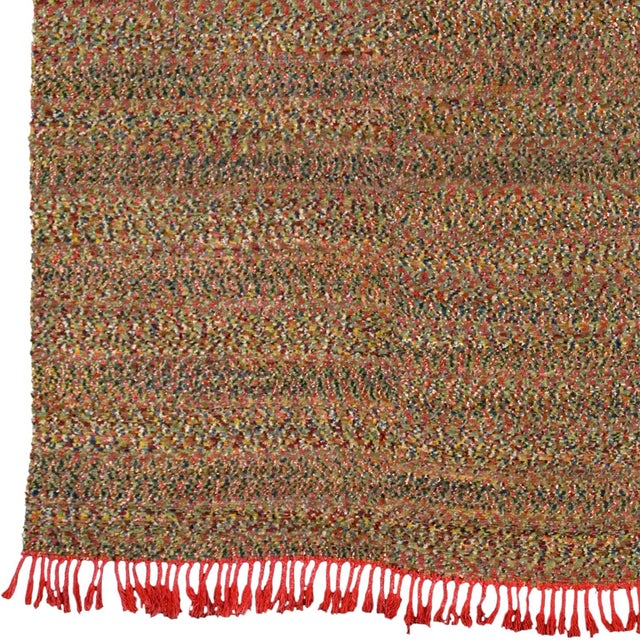 """Sweden ca. 1970 Handwoven 14'3"""" x 8'4"""" (434 x 254 cm) Wool and Chenille FJ Hakimian Reference #03457"""