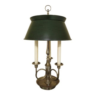 1980s Vintage Frederick Cooper Brass Table Lamp For Sale