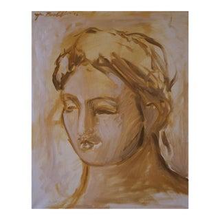 Oil Study of Elizabeth