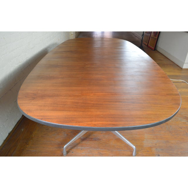 Stunning and monumental example of the timeless Eames' design. This single owner pieces measures in at just under 9 feet...