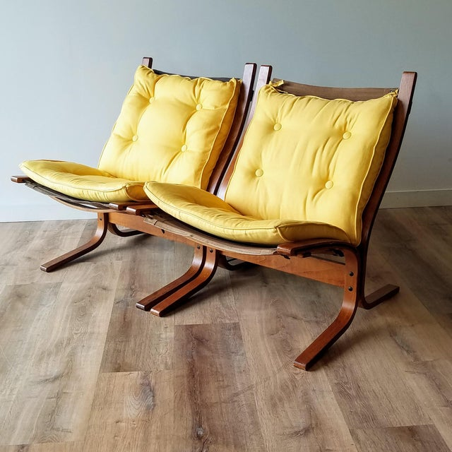 """1970s Ingmar Relling Newly Upholstered """"Seista"""" Chairs - a Pair For Sale - Image 13 of 13"""
