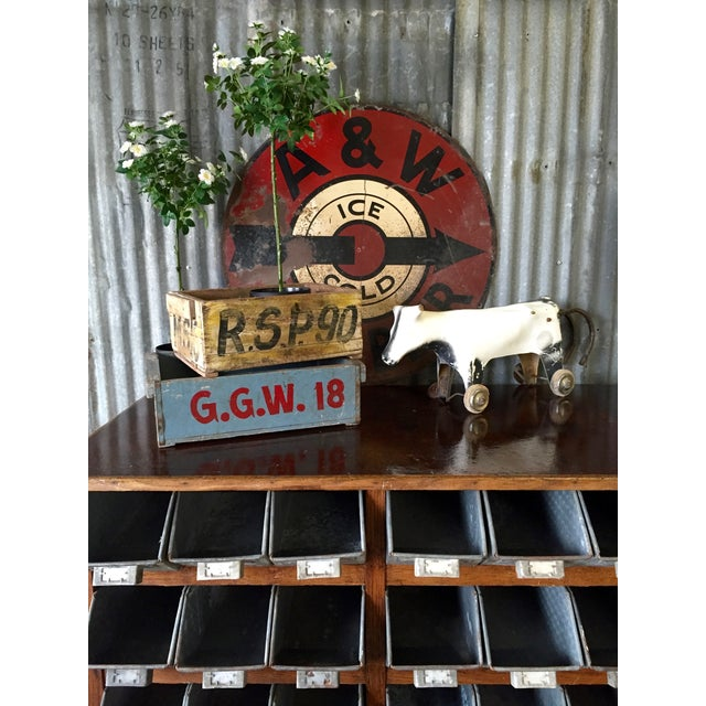 Vintage 1950s A&W Rootbeer Metal Sign - Image 3 of 5