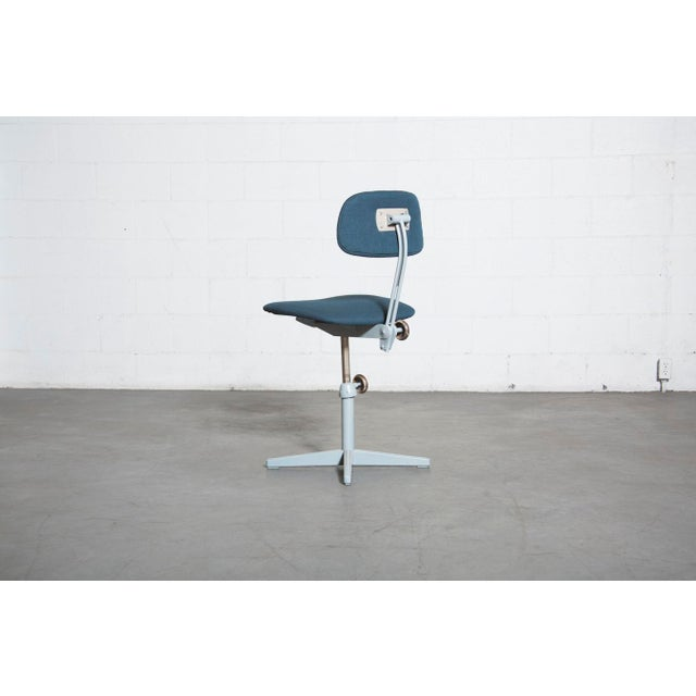 Friso Kramer Newly Upholstered Drafting Chair - Image 5 of 11