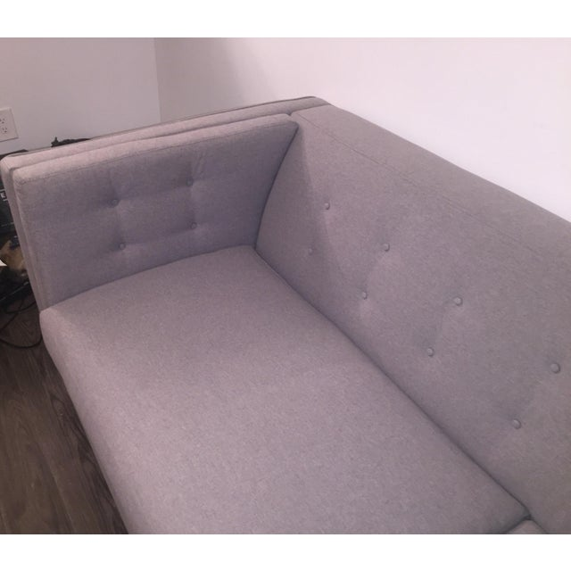 Braylei Gray Track Arm Sofa For Sale In Columbus - Image 6 of 7