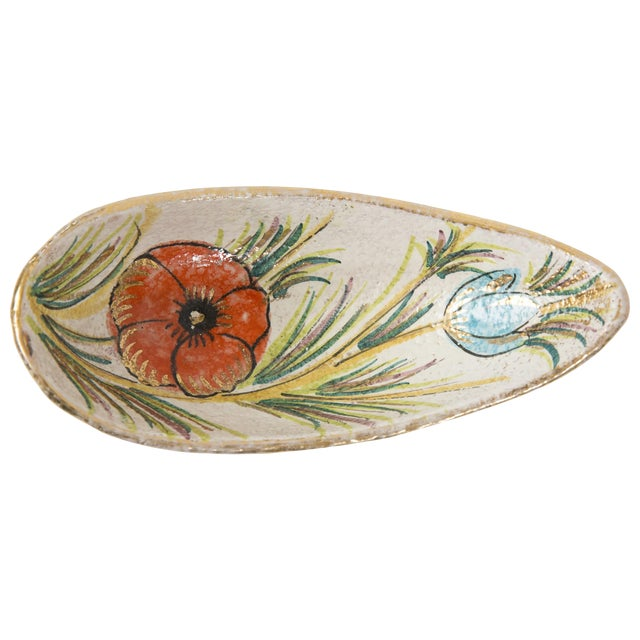 Fanciullacci / Londi Gilded Floral Bowl - Image 1 of 7