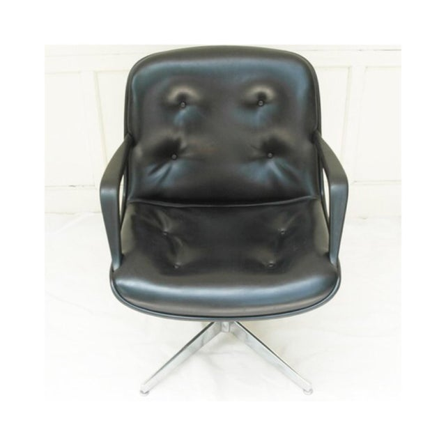 Mid-Century Modern Charles Pollock Style Executive Chair by Steelcase - Image 5 of 5