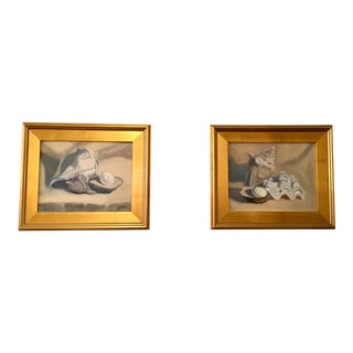 """White Study #1 and #2"" Oil on Canvas Paintings by Kathy Love - a Pair For Sale"