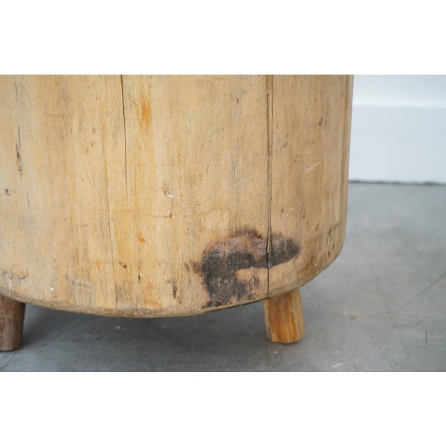 Primitive Side Table For Sale - Image 4 of 9