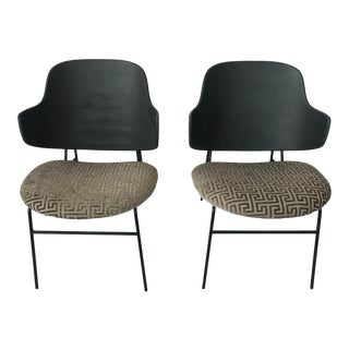 1950s Vintage Kofod Larsen Penguin Chairs - a Pair For Sale