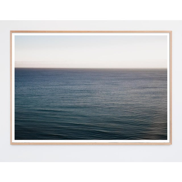 """Mark Frohman """"Miami a.m."""" Minimalist Ocean Wave Photograph For Sale - Image 4 of 5"""