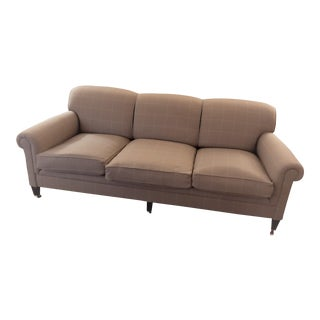 George Smith Full Scroll Arm Standard Sofa For Sale