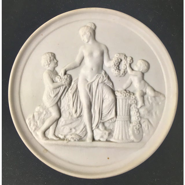 Ceramic Royal Copenhagen Plaques – a Pair For Sale - Image 7 of 8