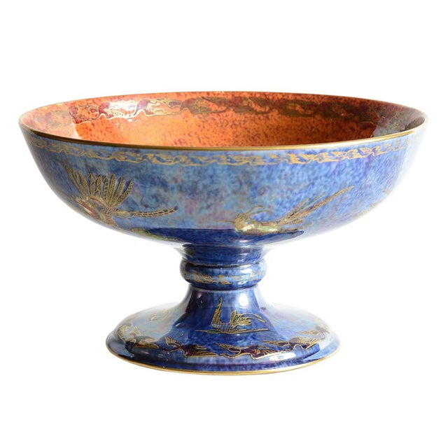 "Wedgewood ""Fairyland"" Lustre Bowl For Sale - Image 9 of 9"