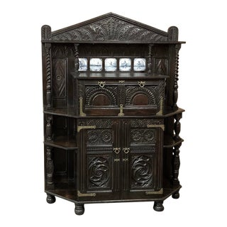 18th Century Renaissance Style Dutch Collector's Cabinet ~ For Sale