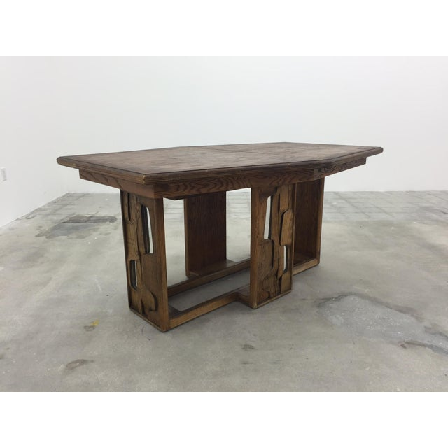 Brutalist Dining Table - Image 7 of 7