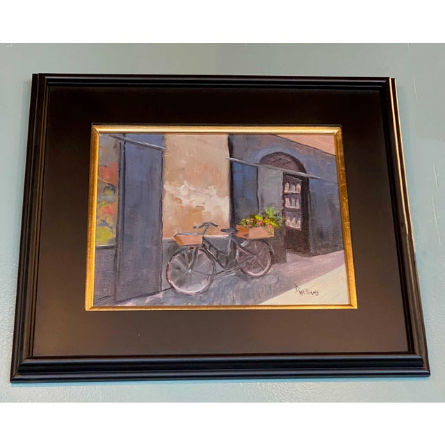 19th Century Painting of Bicycle For Sale - Image 4 of 5