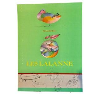 """1970's Alexander Iolas """"Les Lalanne"""" Poster"""
