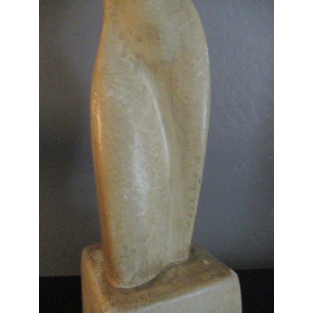Going Going Gone Modernist Sculptural Nude Form Lamp For Sale - Image 9 of 9