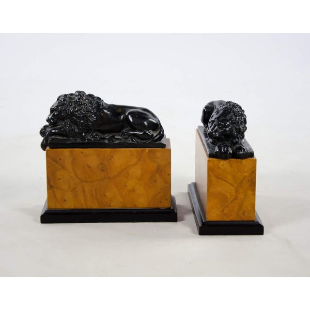 Italian Neoclassical Style Lion Bookends - a Pair For Sale - Image 9 of 9