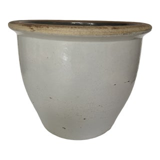 Early 20th Century Glazed Kitchen Crock For Sale