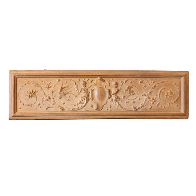 Italian Rococo Terracotta Frieze For Sale In Houston - Image 6 of 6