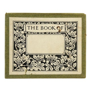 Antique Art Nouveau Set of Bookplates in Box