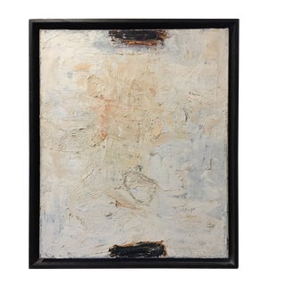 Study No. II Painting for the Series N.S. By Ricardo Mazal Framed For Sale