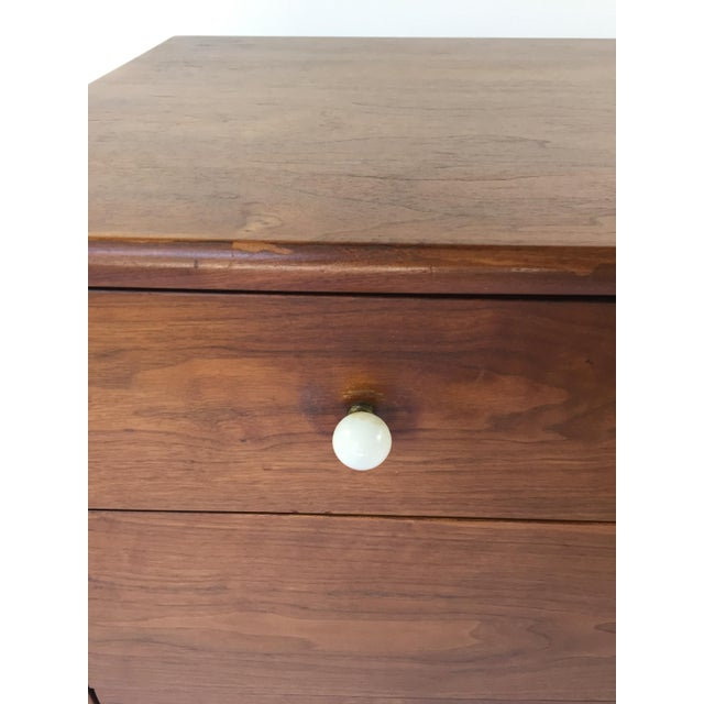 Kipp Stewart for Drexel Declaration Walnut Dresser - Image 6 of 7