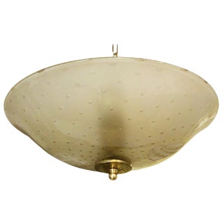 Bollicine Pendant / Flush Mount by Barovier E Toso For Sale