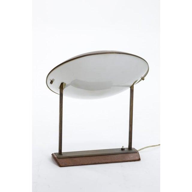 Mid-Century Modern Stilnovo Rare Model No. 8050 Genuine Table Lamp For Sale - Image 3 of 5