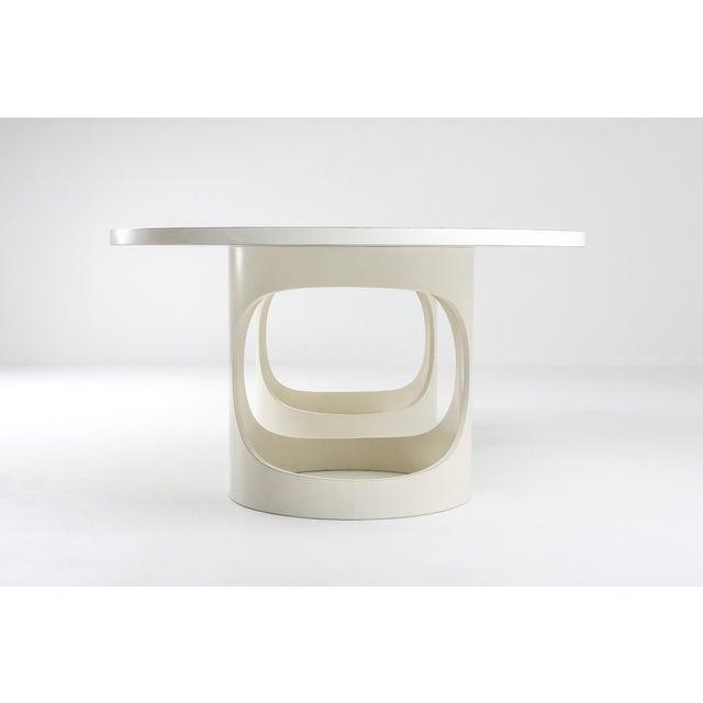 Arne Jacobsen Pre Pop Dining Table for Asko - 1969 For Sale - Image 9 of 12