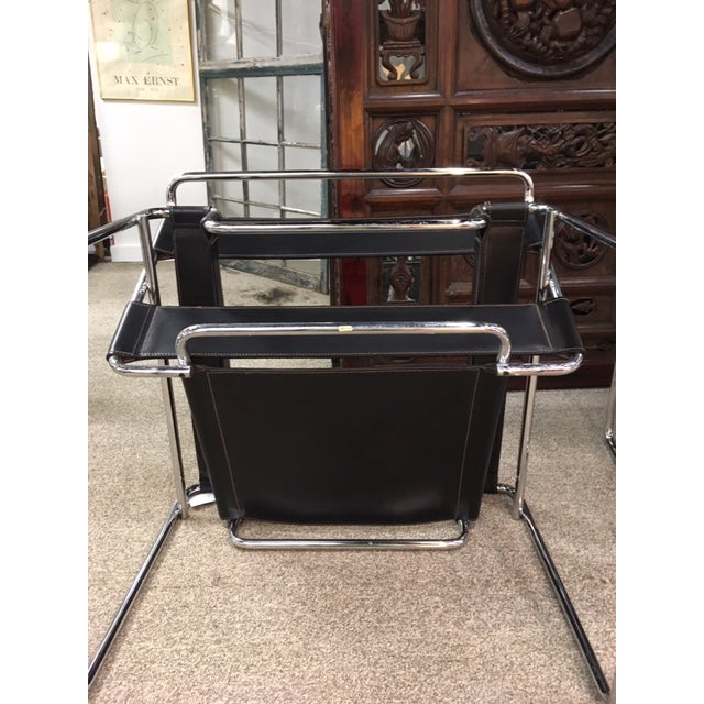 Pair Marcel Breuer Wassily Chairs For Sale In New York - Image 6 of 9