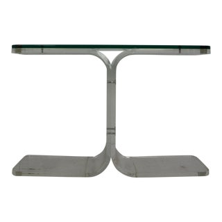 Late 20th Century Lucite Console For Sale