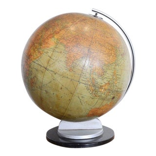 Vintage u.s. School Globe 1930's For Sale