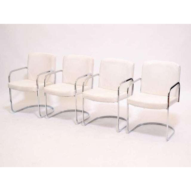 Set of four dining chairs by Design Institute of America - Image 3 of 11