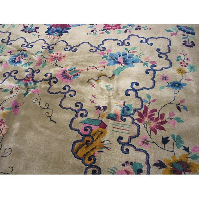 1920s Chinese Art Deco Rug For Sale - Image 5 of 8