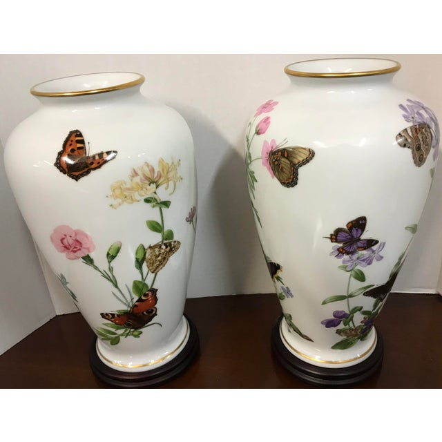 1980s Franklin Porcelain John Wilkinson Country Garden Meadowland