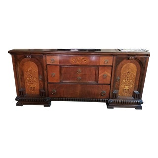 Lifetime Furniture Co Jacobean Buffet For Sale