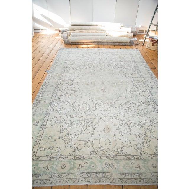 "Distressed Oushak Carpet - 6'3"" X 10' - Image 4 of 8"
